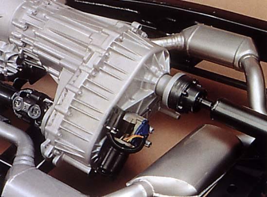 Transfer Case Location Low Range Motor