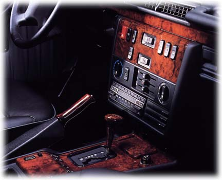 Mercedes Benz History >> Mercedes 500 GE limited edition interior