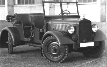 Mercedes Benz Gelaendewagen G5 1937