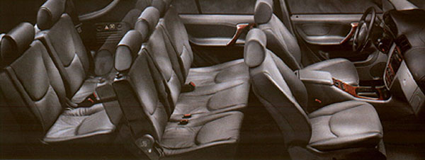 i do agree strongly on the 7 seat idea though - Mercedes G Wagon 3rd Row Seat