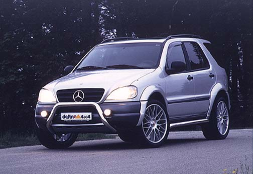 Mercedes benz ml320 tuning by brabus lorinser and delta for Mercedes benz ml accessories